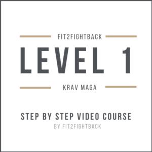 Fit2FightBack Krav Maga Level 1
